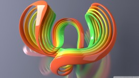 Colorful Strips Abstract Wallpaper
