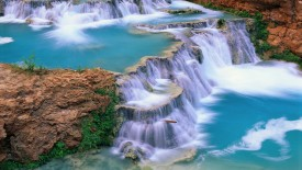 Supai Creek, Beaver Canyon, Havasupai Indian Reservation, Arizona
