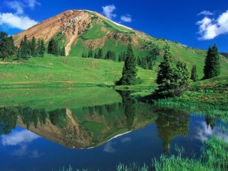 Alpine_Pond2C_Gunnison_National_Forest2C_Colorado