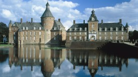 Anholt castle near Isselburg, Germany, North Rhine-Westphalia