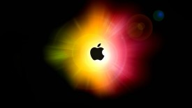Apple Mac Brand Logo Black