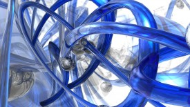 Blue Abstracts