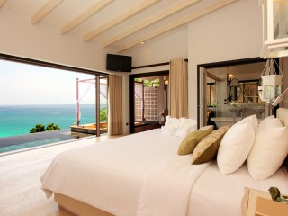 Room Sea View Bed Interior Design