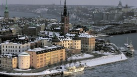 Stockholm in Winter Sweden