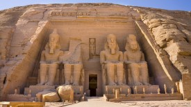 Temple of Ramesses II Abu Simbel Egypt