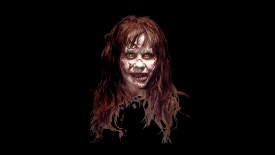The Exorcist – Horror Face Wallpaper