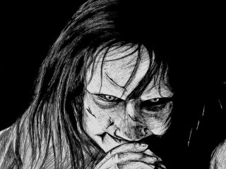 The Exorcist Movie Sketch Wallpaper