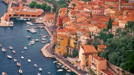 Ville Franche Harbor, France