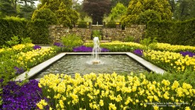 Longwood Garden in Spring, Pennsylvania