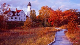 Point Iroquois Lighthouse, Brimley, Michigan
