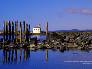 Coquille River Lighthouse, Bullards Beach State Park, Oregon