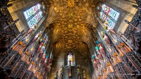 The Thistle Chapel, St. Giles Cathedral, Edinburgh, Scotland
