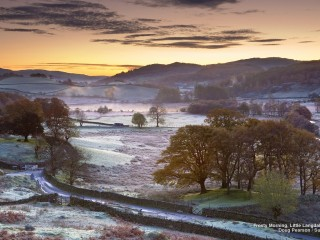 Frosty Morning, Little Langdale, Cumbria, England