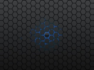 Honeycomb Grey pattern wallpaper