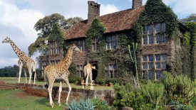 Giraffe Manor, Near Nairobi, Kenya