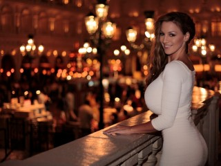 Jordan Carver At Night