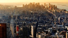 Manhattan in the Morning, New York