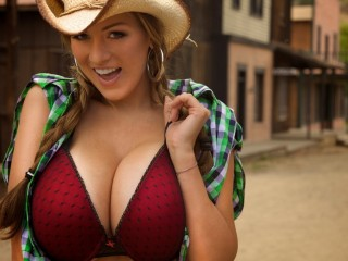 Red Maroon Bra Jordan Carver Wallpaper