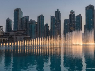 The Dubai Fountain, United Arab Emirates