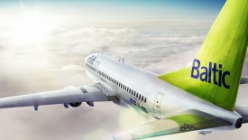 Air Baltic Airplane