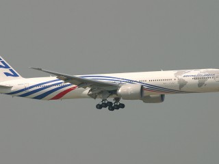Boeing 777 In The Air