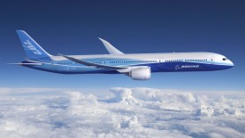 Boeing 787 Airplane
