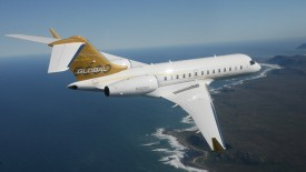 Bombardier Global Express Above The Ocean