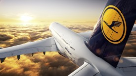 Lufthansa Airplane Wallpaper