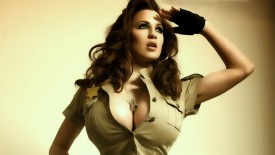 Jordan Carver Army Dress