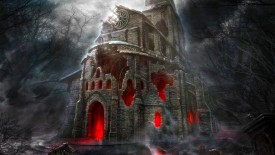 Haunted House Wide Screen Wallpaper