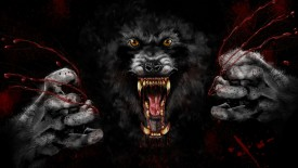Werewolf Scary Wallpaper