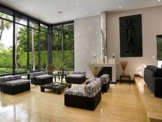 Designer Living Room And Lawns