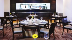Dining Table In Hotel Interior Design And Decoration