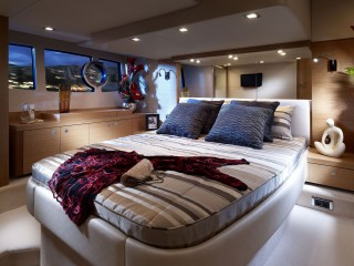 Interior Cabin On A Yacht