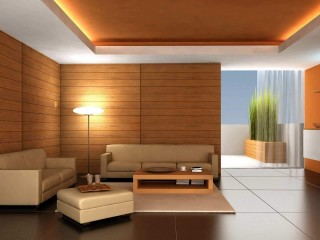 Living Room Interior Design Ideas 1920×1200 Wooden Panels