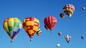 Ballooning Over Albuquerque, New Mexico