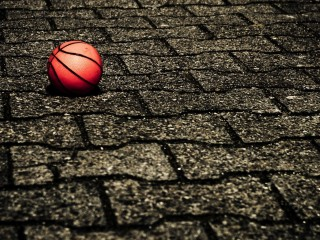 Basket Ball On Street
