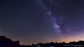 Perseid Meteor Shower and the Milky Way, Oklahoma