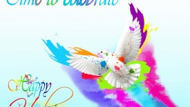 Time To Celebrate   Happy Holi Wallpaper