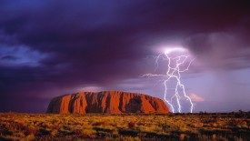 Lighting Storm, Uluru National Park, Australia
