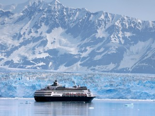 Cruising Along the Hubbard Glacier, Alaska
