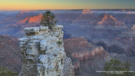 Yavapai Point at Sunrise, Grand Canyon N.P., Arizona