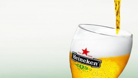Heineken Beer In Glass