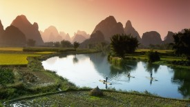 Fishing on the Li River, Guilin, China