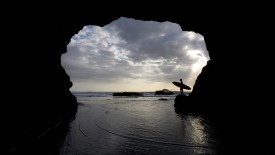 Muriwai Beach, North Island, New Zealand