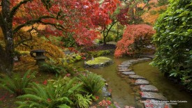 Butchart Gardens in Autumn, British Columbia