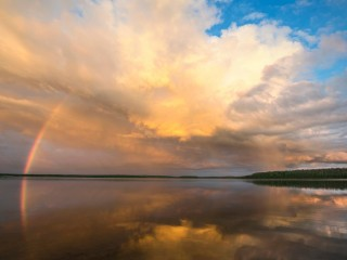 Rainbows Reflected, Saskatchewan