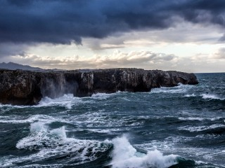 Stormy Weather, Llanes, Asturias, Spain
