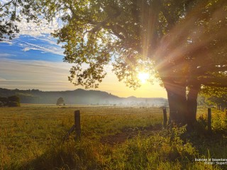 Sunrise in Sauerland, Germany