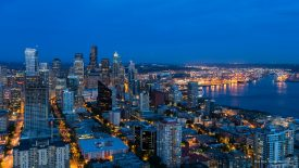Blue Hour, Seattle, Washington